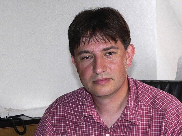 Ředitel Městské knihovny Písek Roman Dub.
