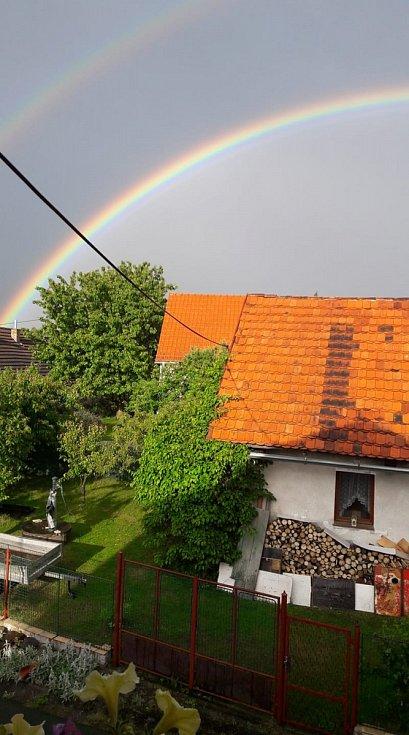 Albrechtice nad Vltavou.