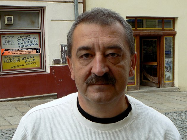 Ctirad Havel, ředitel Centra kultury v Písku.