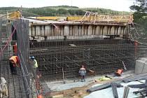 Rekonstrukce Žďákovského mostu.