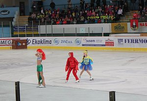 Lední revue v Milevsku.