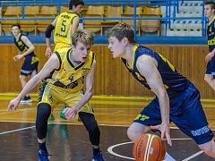 Písečtí basketbaloví kadeti potřetí podlehli Ostravě a končí.