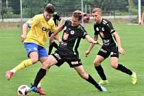 FC Písek - FC Hradec Králové 0:2 (0:2).