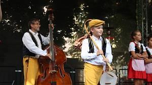 Mezinárodní folklorní festival v Písku - dětské soubory