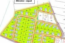 Na Mirovicku má vzniknout téměř stovka nových stavebních parcel.