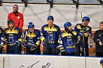 Hokejisté Písku zdolali Linz 3:0. Ilustrační foto.