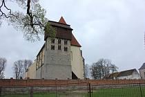 Milevsko, kostel sv. Jiljí u milevského kláštera. Ilustrační foto