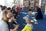 Školka navštívila Modrou knihovnu.