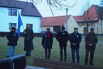 Vzpomínková akce na sametovou revoluci v Kovářově.