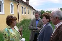 Zleva: Alexandra Zajíčková, Joachim Kruber, Barbara Bresse a Norbert Loibl.