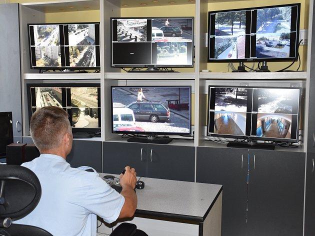Kamerový systém městské policie. Ilustrační foto