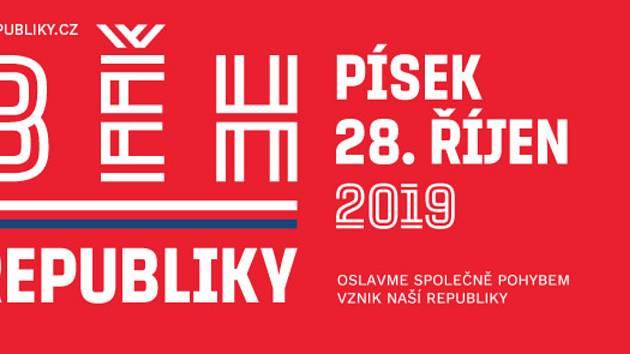 Sokolský běh republiky v Písku.