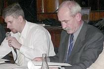 Záběr z jednání zastupitelstva