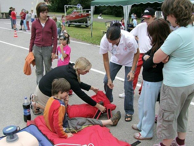 Praktická ukázka první pomoci