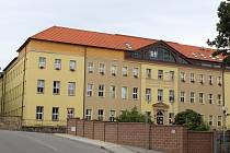 Písek, Střední zemědělská škola a Obchodní akademie. Ilustrační foto