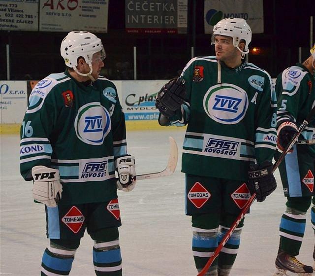 ÚSPĚŠNÁ PREMIÉRA. Hokejové Milevsko si pod novým trenérem Lubošem Krupkou připsalo výhru 3:2 na ledě Hluboké.