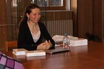Šárka Ledinská představila svou knihu Cesta mudrců.