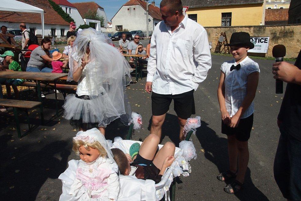 Závody kolců v Radobytcích.