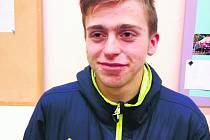 Mladý atlet z Tábora Ondřej Kohout závodí za TJ Chyšky.