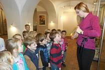 Děti vyrazily za vánoční náladou do muzea.