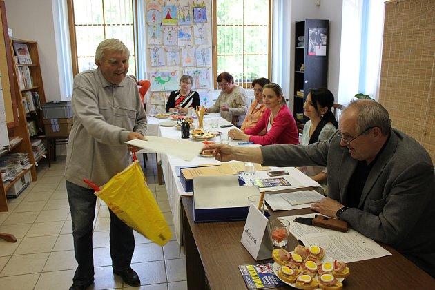 Volby do Evropského parlamentu vKovářově.