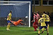 Fortuna ČFL: FC Písek - Slavia Karlovy Vary 1:0 (0:0).