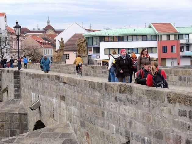 Kamenný most v Písku - nejstarší kamenný most ve střední Evropě severně od Alp...