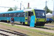 Arriva představila nový vlak, který bude jezdit z Prahy na jih.