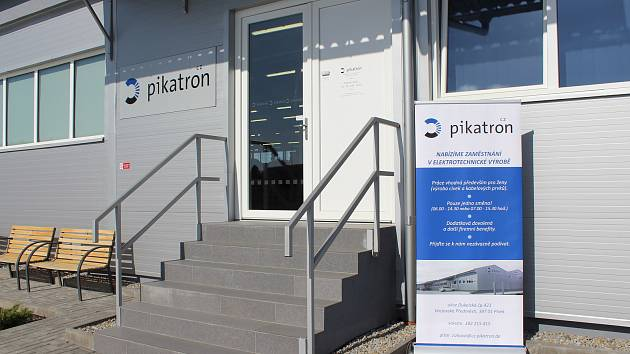 Den otevřených dveří společnosti Pikatron v Písku.