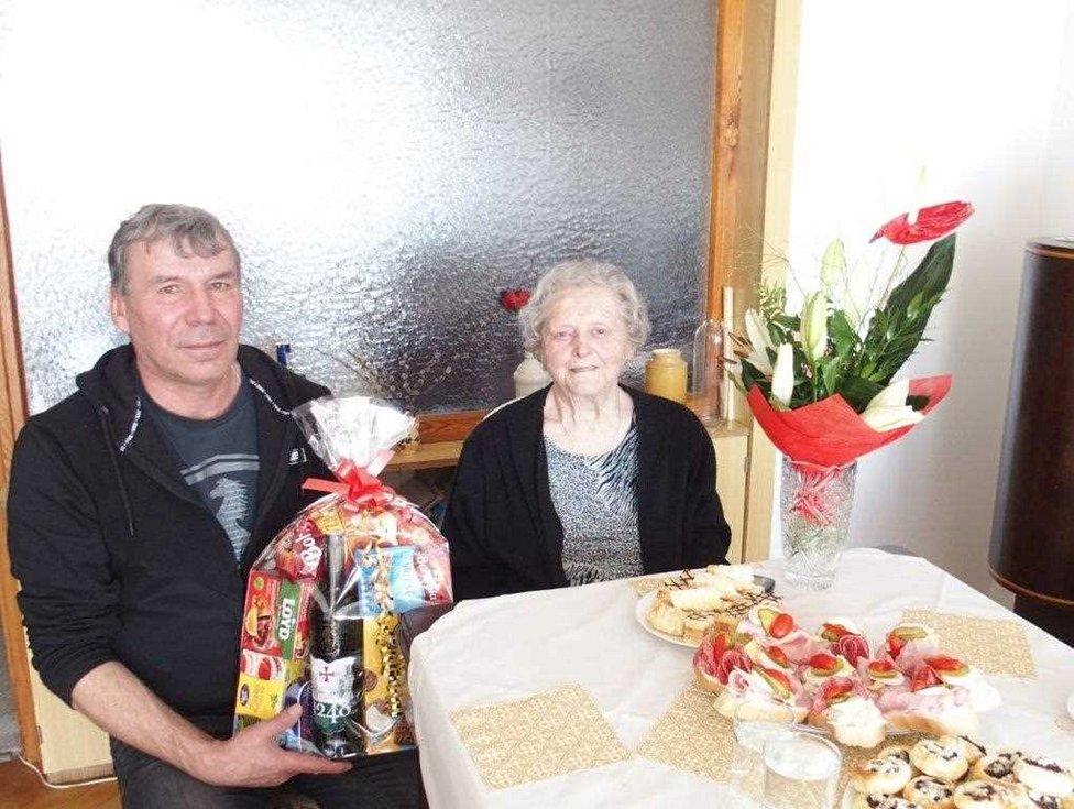 90. narozeniny Jarmily Pelikánové.
