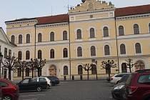 Budova bývalé školy J. A. Komenského Písek. Ilustrační foto.