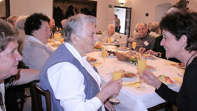 Ze sobotního setkání nejstarších občanů