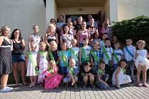 Předškoláci v Záhoří se loučili se školkou.