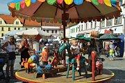 Městská slavnost Dotkni se Písku zaplnila ulice, náměstí i parky.