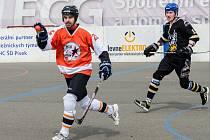 Hokejbalisté HC ŠD nestačili na Prachatice