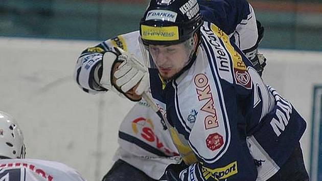 Písecký odchovanec David Mazanec si vyzkoušel v dresu Plzně i nejvyšší českou hokejovou soutěž.
