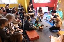 Žáci z Benešovky navštívili domov mládeže.