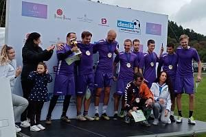 Vítězný tým Plzně 2 - Slovany.
