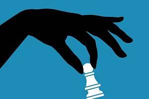Šachový turnaj.