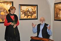 Výstava Evy Jandejskové v Prácheňském muzeu v Písku.