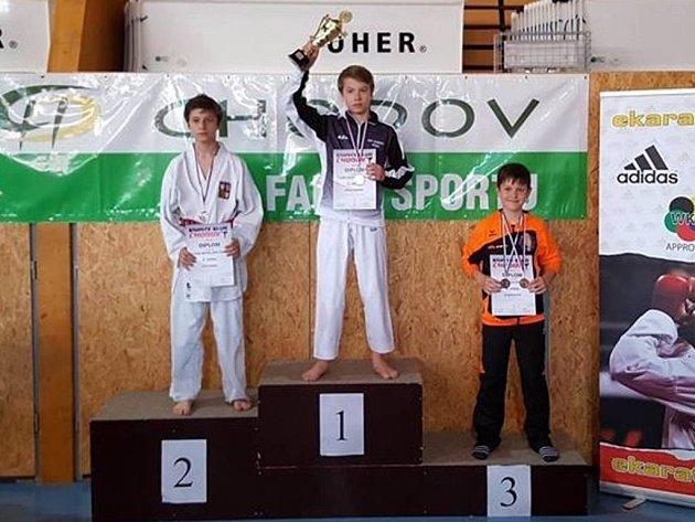 Dominik Smola vyhrál zlato.