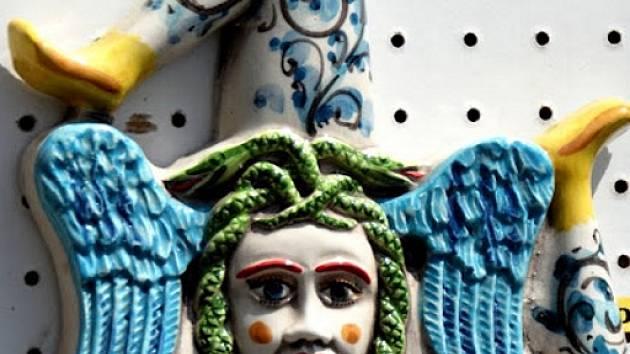 Triskolion, symbol Sicílie, o které bude František Šesták v Prácheňském muzeu  v Písku rovněž vyprávět.
