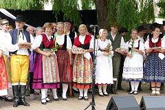 Písečan a další folklorní soubory vystoupily v Kovářově.