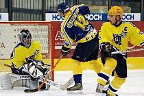 Záběr z jednoho z dřivějších zápasů píseckých hokejistů