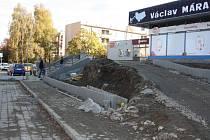 Lokalita Vzor v Milevsku.