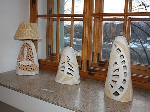 Výstava Kamarádky v Malé galerii písecké Sladovny