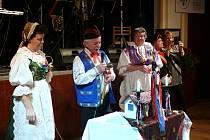 Ze slavnostního zahájení plesu Obce baráčníků Vitoraz v Písku.