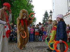 Doprovodný program Cipískoviště je určen i pro děti.