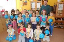 Překvapení pro děti na Hradišti.