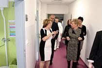 Prohlídka nového Pavilonu Q v písecké nemocnici.